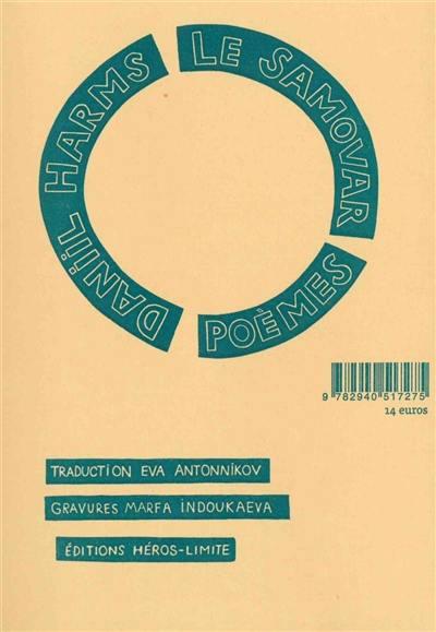 Le samovar : poèmes, 1928-1940