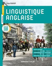 Linguistique anglaise