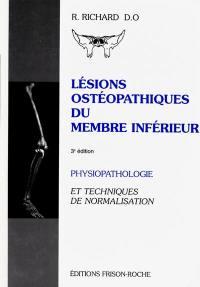 Lésions ostéopathiques du membre inférieur