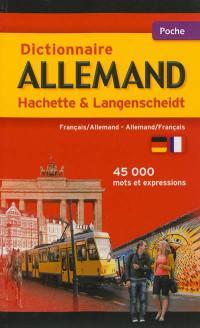 Dictionnaire allemand Hachette Langenscheidt