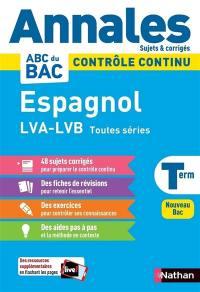 Espagnol LVA, LVB terminale toutes séries