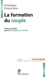 La formation du couple