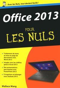 Office 2013 pour les nuls