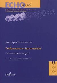 Déclamations et intertextualité