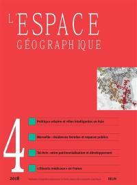 Espace géographique. n° 4 (2018),