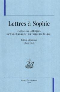 Lettres à Sophie