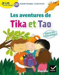Tika et Tao, Les aventures de Tika et Tao : je lis à mon rythme CE1
