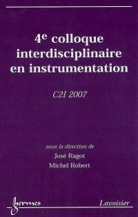4e Colloque interdisciplinaire en instrumentation
