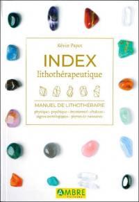 Index lithothérapeutique