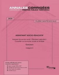 Assistant socio-éducatif 2020