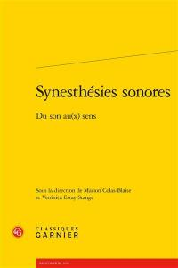 Synesthésies sonores