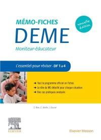 Mémo-fiches DEME, moniteur-éducateur