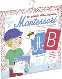 Mes grandes lettres rugueuses Montessori