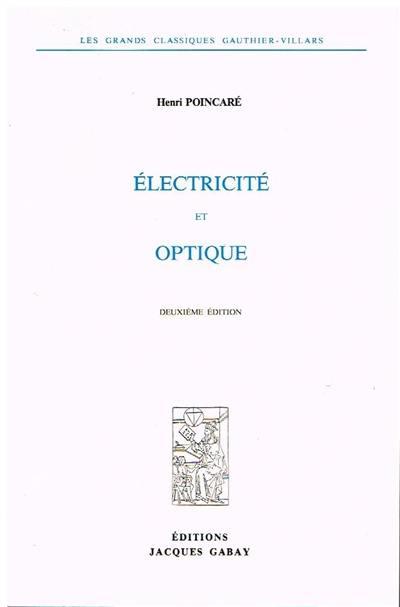 Electricité et optique