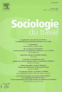 Sociologie du travail. n° 2 (2009), Le plafond de verre dans tous ses éclats