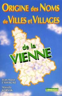 Origine des noms de villes et villages de la Vienne