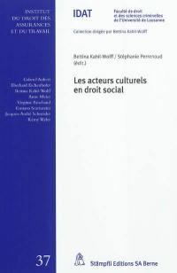Acteurs culturels en droit social