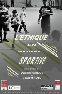 L'éthique en matière sportive