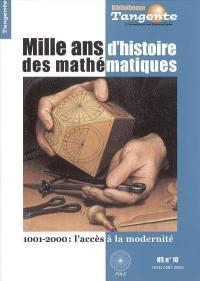 Mille ans d'histoire des mathématiques
