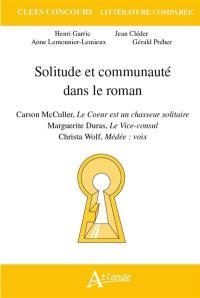 Solitude et communauté dans le roman