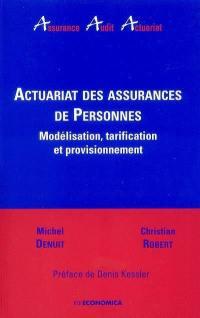 Actuariat des assurances de personnes