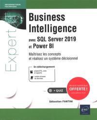 Business intelligence avec SQL Server 2019 et Power BI