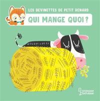 Les devinettes de Petit Renard, Qui mange quoi ?