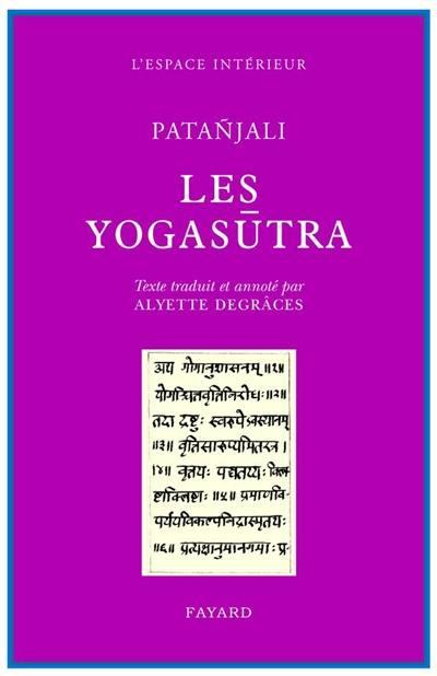 Les Yogasûtra de Patanjali
