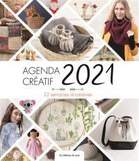Agenda créatif 2021