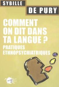 Comment on dit dans ta langue ?