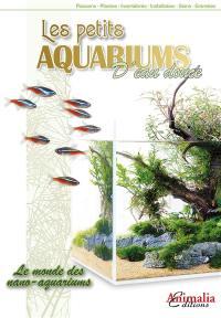 Les petits aquariums d'eau douce