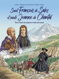 Saint François de Sales et sainte Jeanne de Chantal