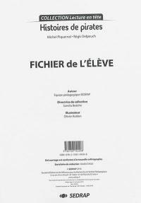 Histoires de pirates, Michel Piquemal, Régis Delpeuch