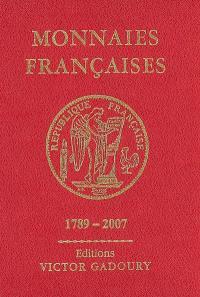 Monnaies françaises, 1789-2007