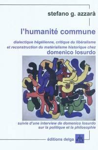L'humanité commune