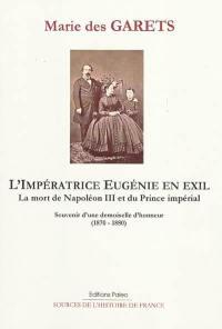 L'impératrice Eugénie en exil