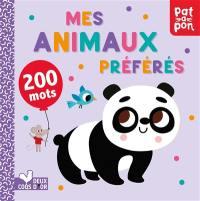Mes animaux préférés : 200 mots