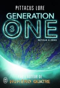 Generation one. Volume 3, Retour à zéro