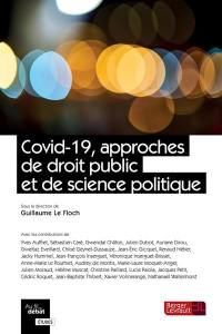 Covid-19, approches de droit public et de science politique