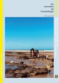 Les nouvelles de l'archéologie. n° 156, Estrans, l'archéologie entre terre et mer