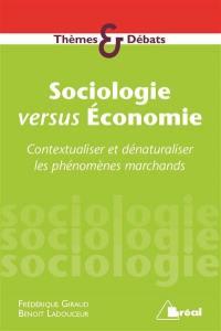 Sociologie versus économie