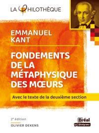 Fondements de la métaphysique des moeurs, Emmanuel Kant