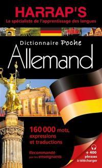 Harrap's dictionnaire poche allemand
