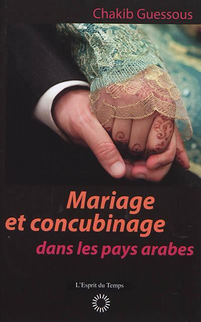 Mariage et concubinage
