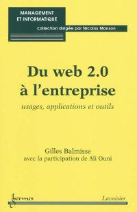 Du Web 2.0 à l'entreprise