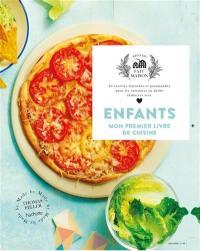 Enfants, mon premier livre de cuisine