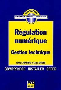 Régulation numérique, gestion technique