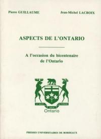 Aspects de l'Ontario