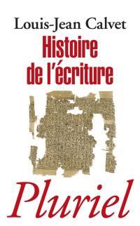 Histoire de l'écriture