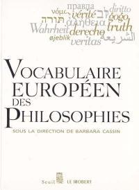 Vocabulaire européen des philosophies